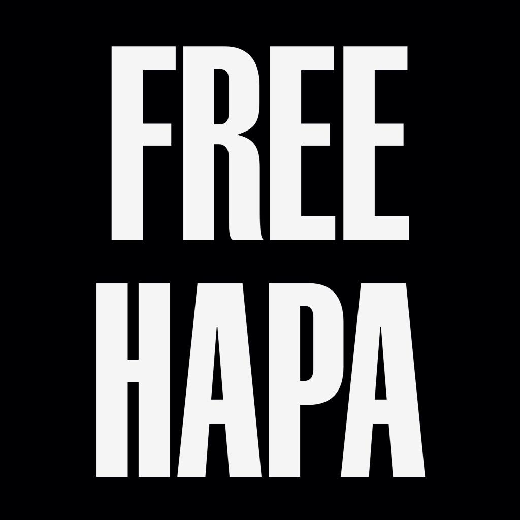 #FREEHAPA is a movement http://t.co/sJjhAyx2Sh