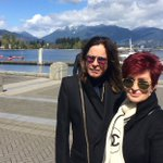 Earlier this week. Sharon and Ozzy Osbourne were spotted in #Vancouver today! http://t.co/KU9zU3V6K0 http://t.co/gMR1rsJ7sC
