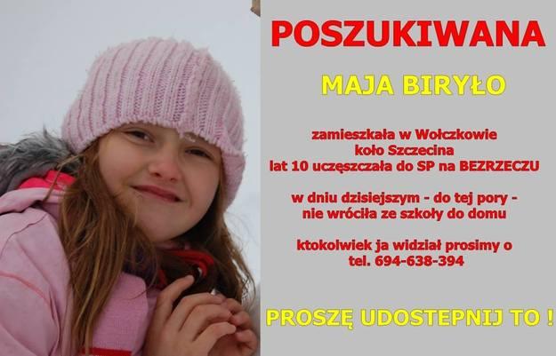 Szukają 10-letniej dziewczynki. Możesz pomóc! http://t.co/I3V5XI87qj http://t.co/oE0W5SMBQJ