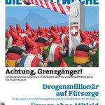 Die @Weltwoche, das Zentralorgan des ängstlichen Schweizer Mannes.Fürchtet sich vor Grenzgängern, Schwarzen & Frauen: http://t.co/7osfmbWQrS