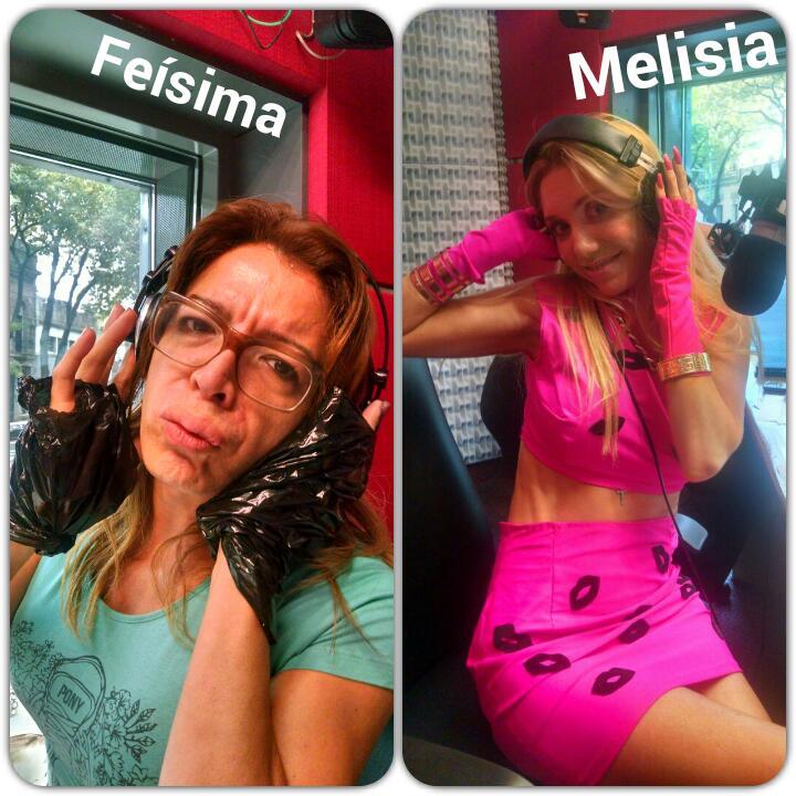 Diego Brancatelli (@diegobranca): Dos gotitas de agua (?) Separadas al nacer. Melisia y Feísima. #MañanasCampestres http://t.co/AFN6GBtMpy