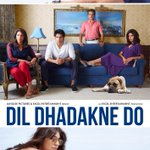 Here's the brand new poster of #DilDhadakneDo - the family [Priyanka, Ranveer & Shefali, Anil Kapoor]... http://t.co/ngpNjnmpav