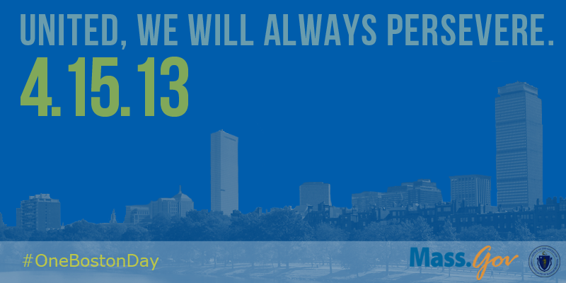Today, we reflect and remember and encourage kindness toward others. http://t.co/IapsuJZ1SD #OneBostonDay http://t.co/VUckve2WFb
