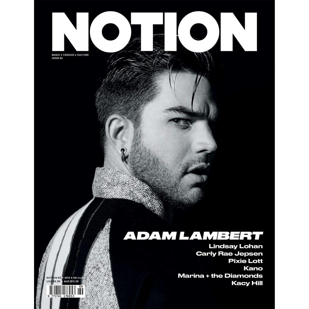So excited for my @adamlambert cover to b out I styled! #Glamberts #AdamLambert #AlexisKnoxStyling http://t.co/xjSd1gg800