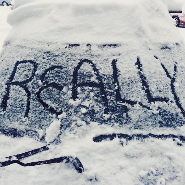 From @bozchron reader David Alexieff on Facebook. This about sums up #Bozeman today... #mtwx http://t.co/64aQCJyrHc