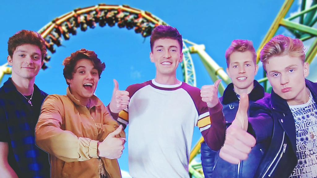 New video: ROLLER COASTERS with @TheVampsBand !  https://t.co/ZokujSqwB3  RT this now go go go!