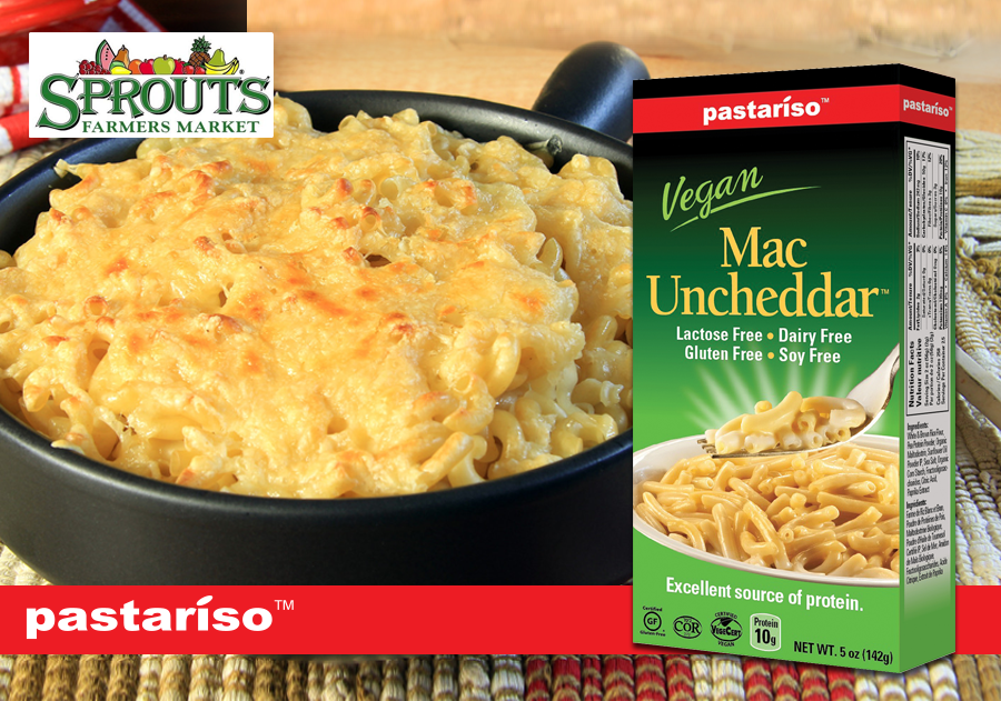 RT @MaplegroveFoods: Pastariso's Mac Uncheddar is: #Vegan, #DF, #GlutenFree, #SoyFree, #EggFree, #NutFree, #NonGMO & avai. at @SproutsFM ht…