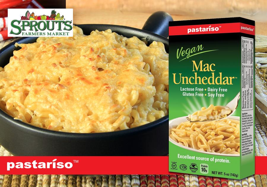 RT @MaplegroveFoods: Pastariso's Mac Uncheddar is: #Vegan, #DF, #GlutenFree, #SoyFree, #EggFree, #NutFree, #NonGMO & avai. at @SproutsFM ht…