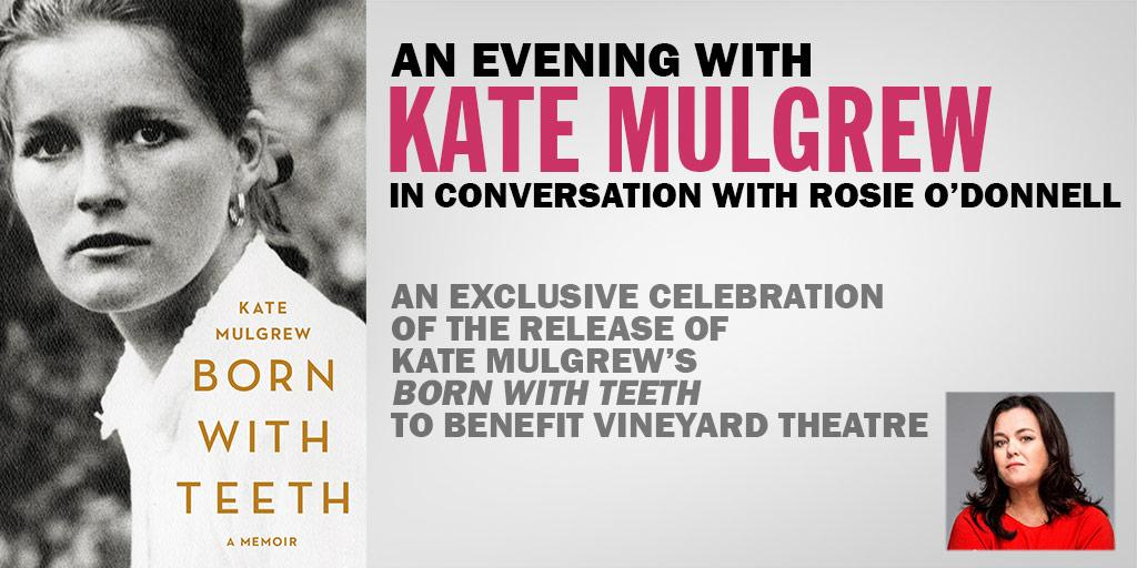 Join us May 3 for an exclusive event: @TheKateMulgrew & @Rosie discussing #BornWithTeeth http://t.co/Ez5vBfQi0a http://t.co/D1GgD2txJh