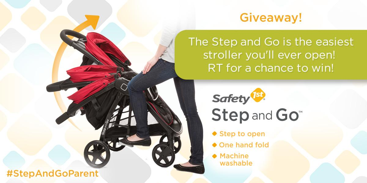 Our Step and Go is the easiest stroller you'll ever open! RT to win! #StepandGoParent http://t.co/OwCkkNu5wk http://t.co/ASNExQhBuz