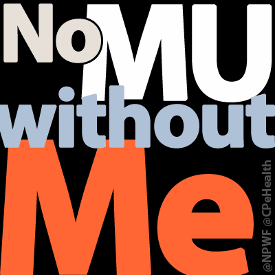 Tell @CMSGov one patient isn't meaningful enough. Then change your profile to show support. #NoMUwithoutMe #HIMSS15 http://t.co/Ql1f95qMpQ
