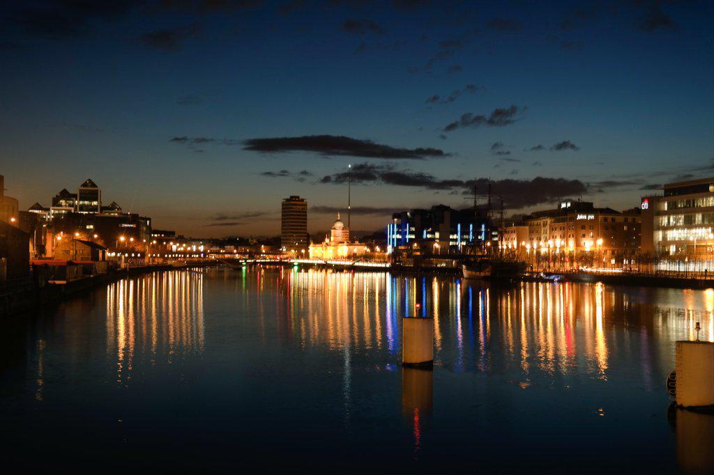 Dublin looking fine tonight ❤