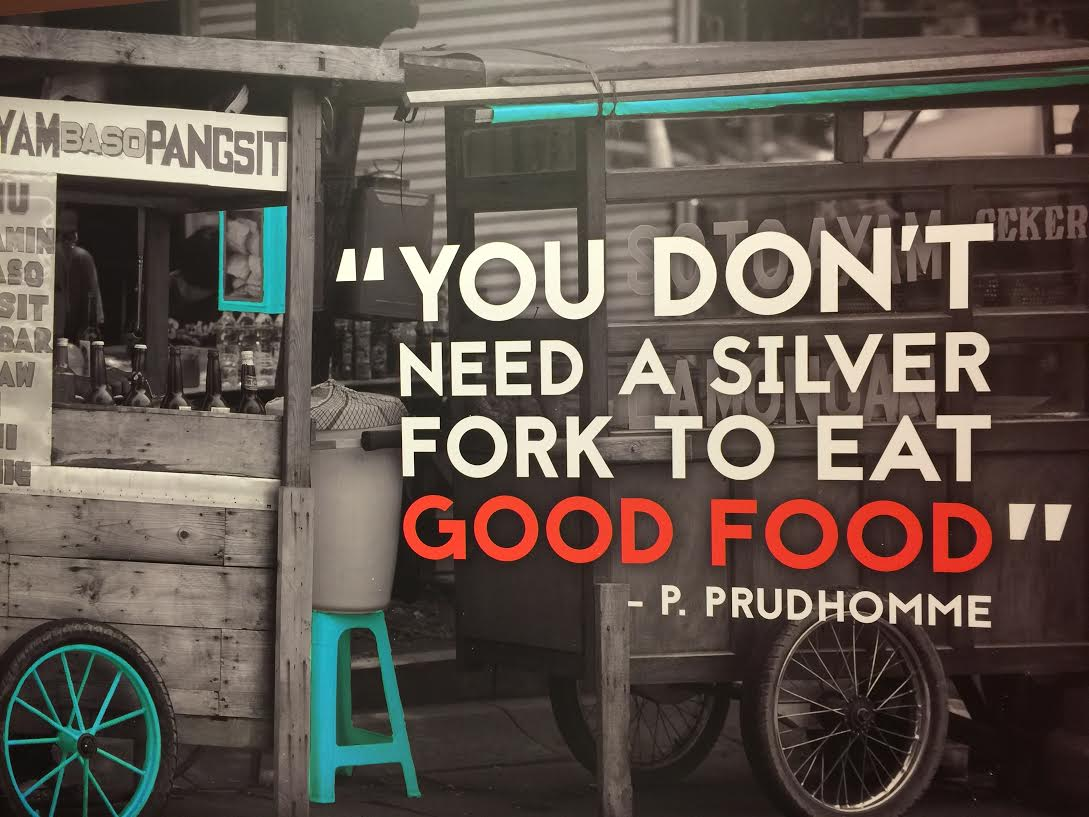 """""""You don't need a silver fork to eat good food"""" - P. Prudhomme http://t.co/llEuB7EQ47"""