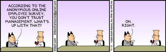 Anonymous Employee Survey #dilbert #Trust http://t.co/Hd26sHjiQ7