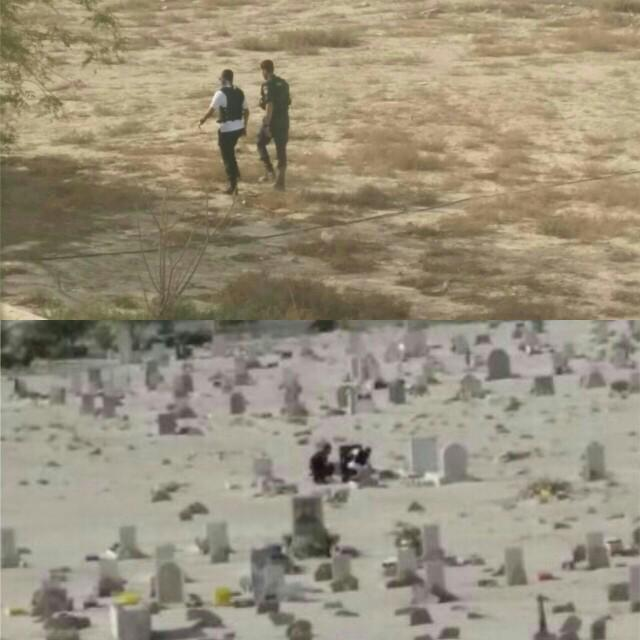 أخبار كرزكان  (@KarzakkanNews): #البحرين #كرزكان نيوز : المليشيات المدنية تدنس مقبرة البلدة وتنتهك حرمة الموتى بتفتيش القبور ونبشها. #f1 http://t.co/I10fcbLaPU