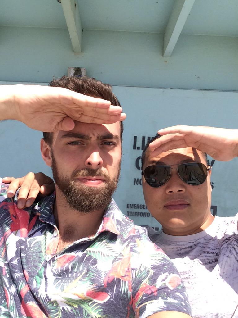 Matt Stopera (@mattstopera): FYI, we haven't been able to say until now but me and Bro are in LA bc we are going to be on the Ellen show (!!!!) http://t.co/KOchhWWnFM