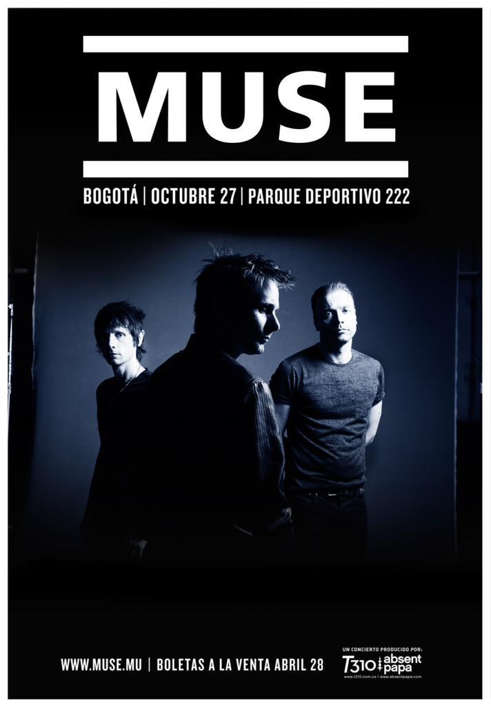Un sueño que comenzó a viajar en el tiempo desde 2006. Será surreal ver a Muse en Btá casi 9 años después de ese mail http://t.co/uUn4nVmWzk