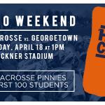 Its senior day for @UVAMensLacrosse! Come celebrate #WahooWeekend with us at Klöckner Stadium at 1pm! #GoHoos http://t.co/NONgYeHxSu