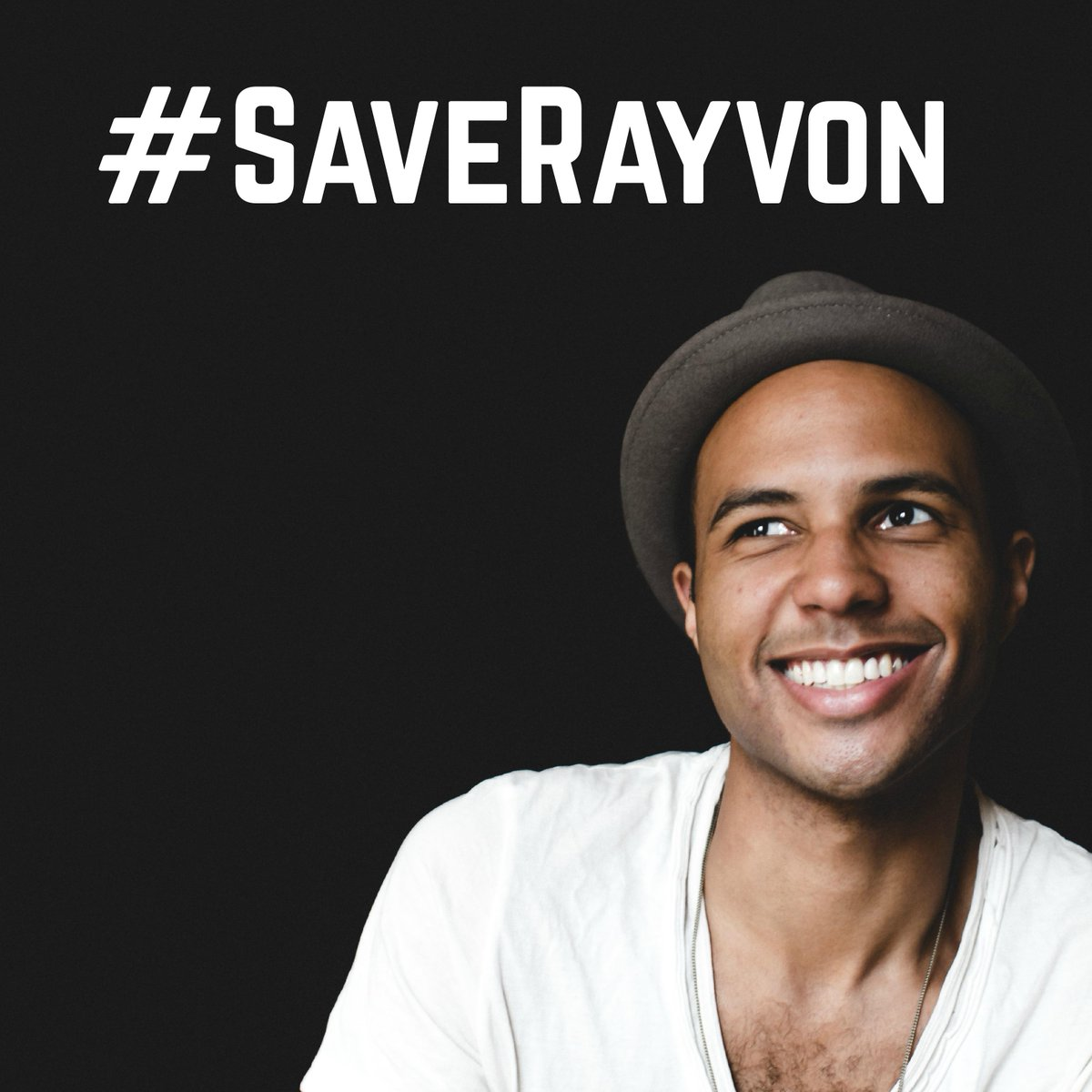 It's that time again! Retweet & tweet #SaveRayvon to get me to the Top 6! Thank you all so much! http://t.co/R9sov10zaP