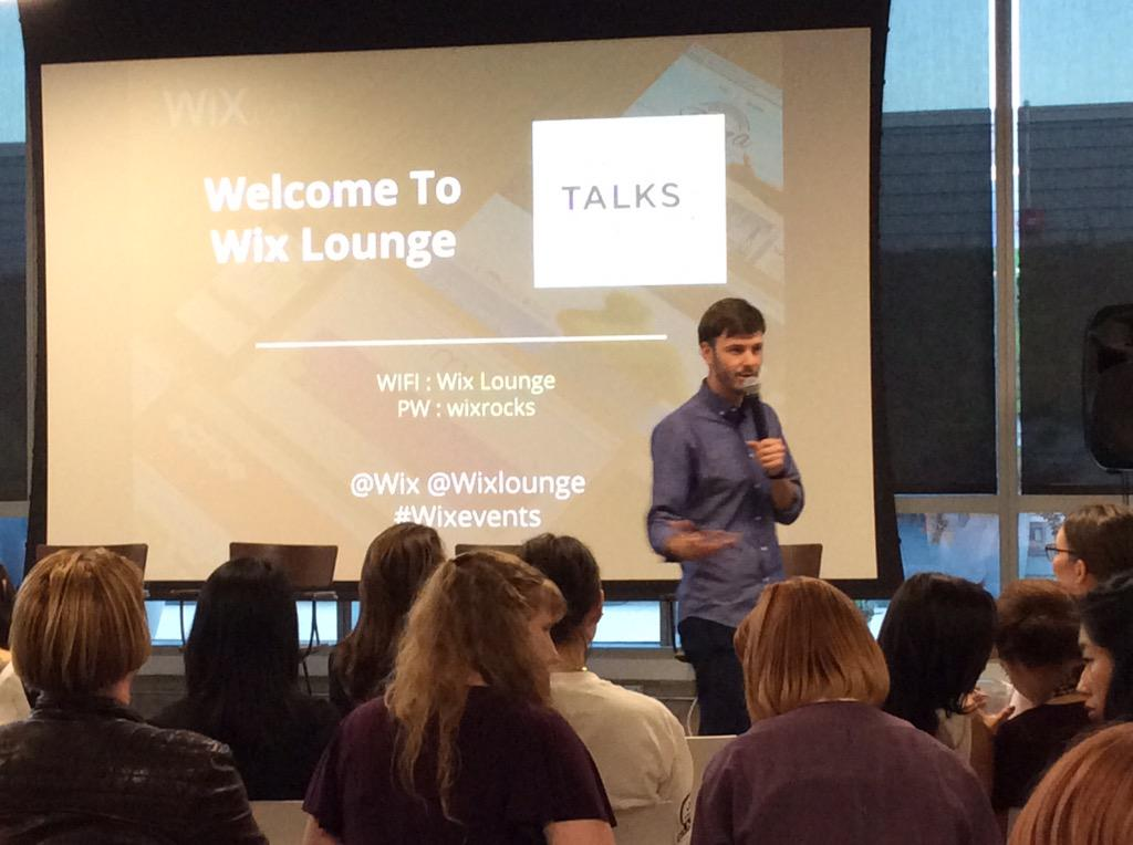 @WixLounge warmly welcomed empowered guests at #SheTalksForum http://t.co/s7aH3K1IW1