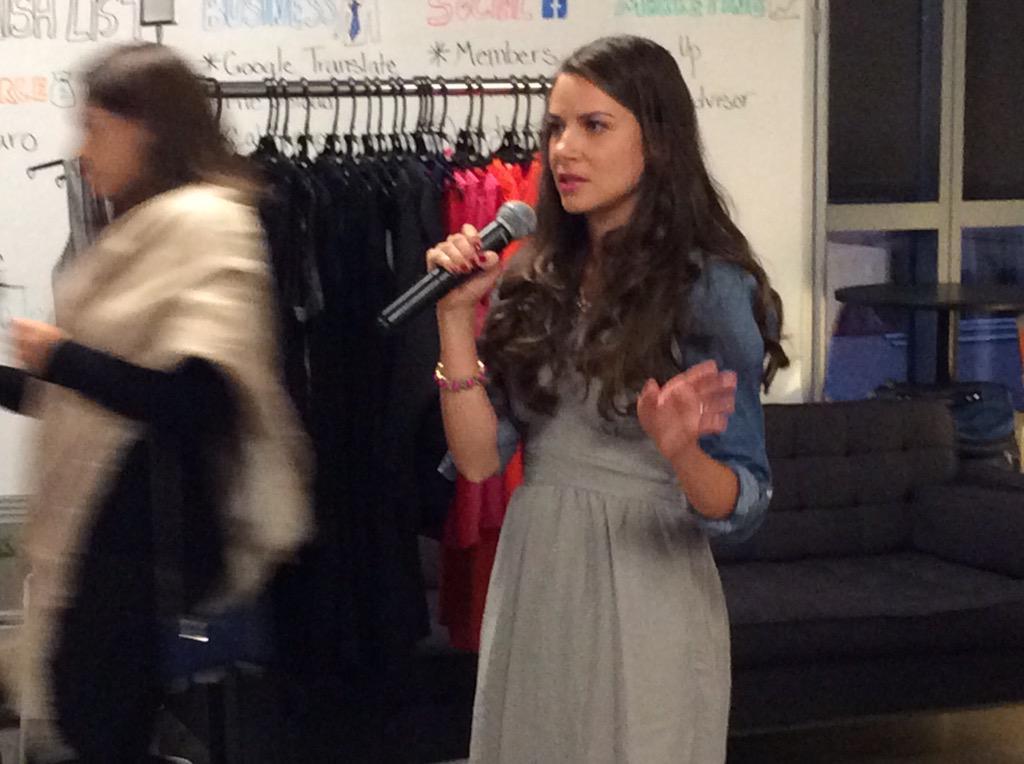 RT @SheTalksForum: @LiveLoveModa shared her affordable + stylish RTW line w/ #SheTalksForum audience http://t.co/2NfN6RBZNw