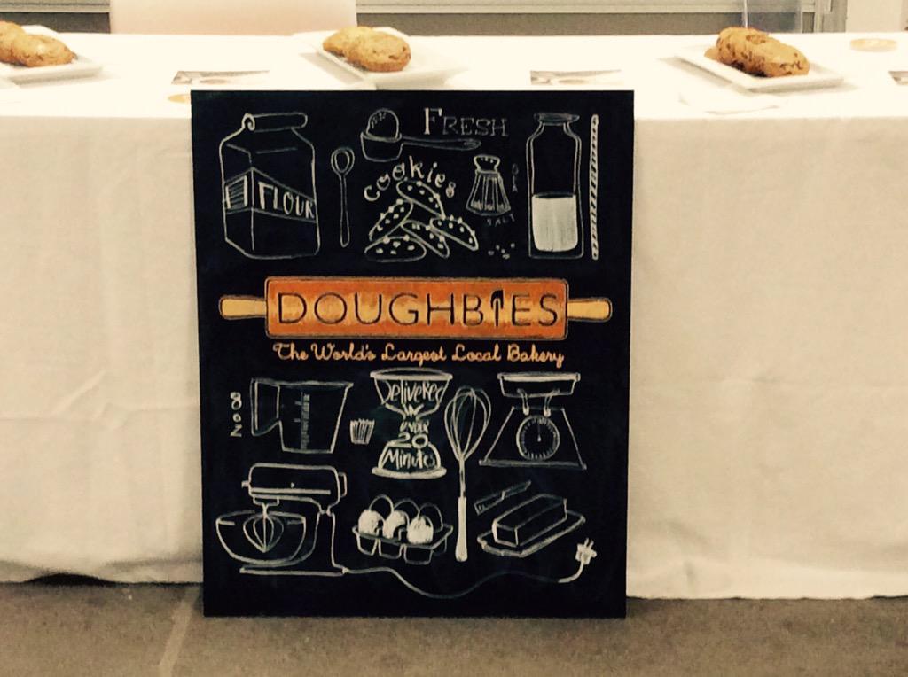 #SheTalksForum guests went nuts over @Doughbies cookies http://t.co/vVZbGtc9bt