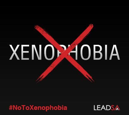Stand up, do the right thing and make a difference. Lead SA and say #NoToXenophobia. @lead_sa @Radio702 http://t.co/GlZQznFo3w