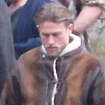 New photos of Charlie Hunnam as King Arthur on the set of his new movie! See here: http://t.co/UHDeETGHp0 http://t.co/KIlLs1i8uI