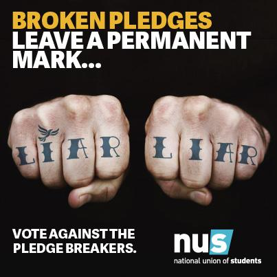 They lied to us. It's time to vote out the tuition fee pledge breakers http://t.co/P1eCam0R4N #GenerationVote #GE2015 http://t.co/FoXQCR7CwW