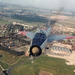 RT @Aeroplaneicons: Nostalgia! ETPS Lighting XS422 over Boscombe Down :)