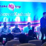 RT @makemytrip: Welcoming @sanjaysuri to MakeMyTrip's #RediscoverKashmir press event!