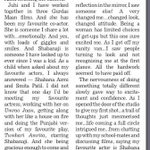 RT @CherylAnth25: @divyadutta25 shares her feeling working with her favourite actor's in her upcoming movie 'Chalk N Duster'. #Tribune http…