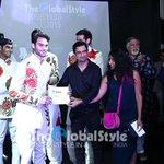 RT @RajSuri: Thank you @sanjaysuri awarding 'best face' w/ #NaharikaKhan @theglobalstyle India 2015 - http://t.co/0AkdPNt49w