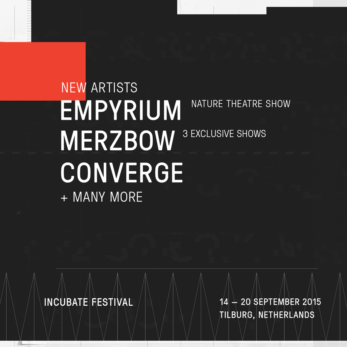 We've added @convergecult, @merzbowofficial, and Empyrium + 22 more for #incu15. Check out: http://t.co/IZyQUZc1IK http://t.co/srjEf1ue5k