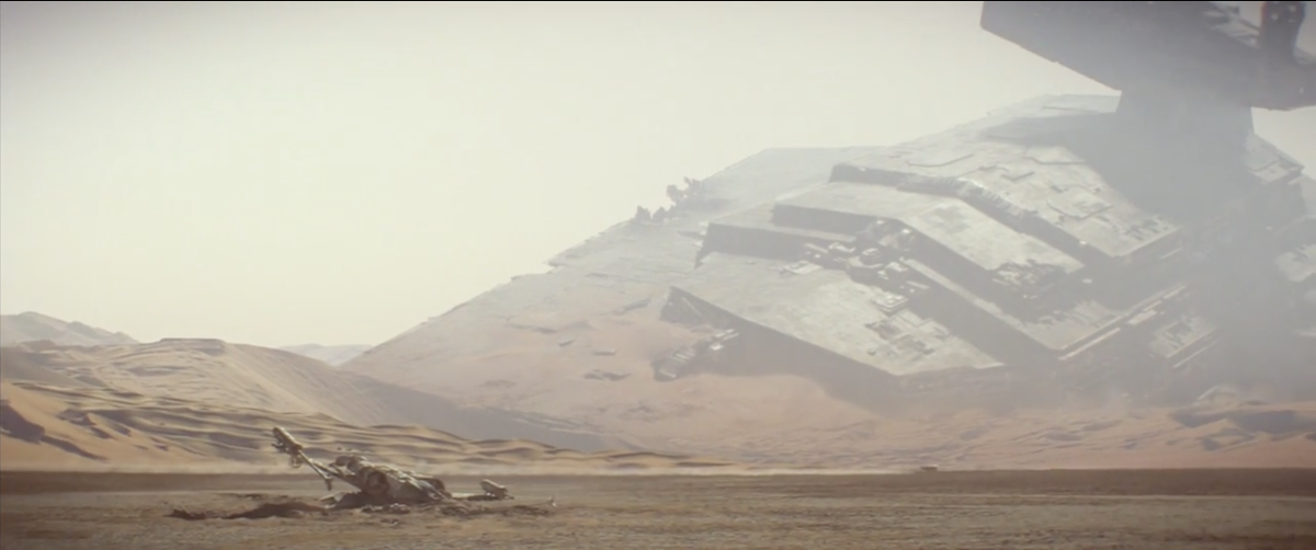 Love this shot from the new Star Wars teaser. http://t.co/CYkosl0rU5