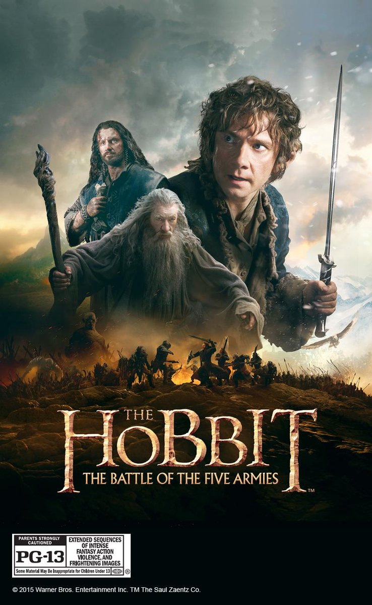 Join us tomorrow at 9 am & find out how to win a Digital HD copy of #TheHobbit: The Battle of the Five Armies! http://t.co/HFbPBLQOSu
