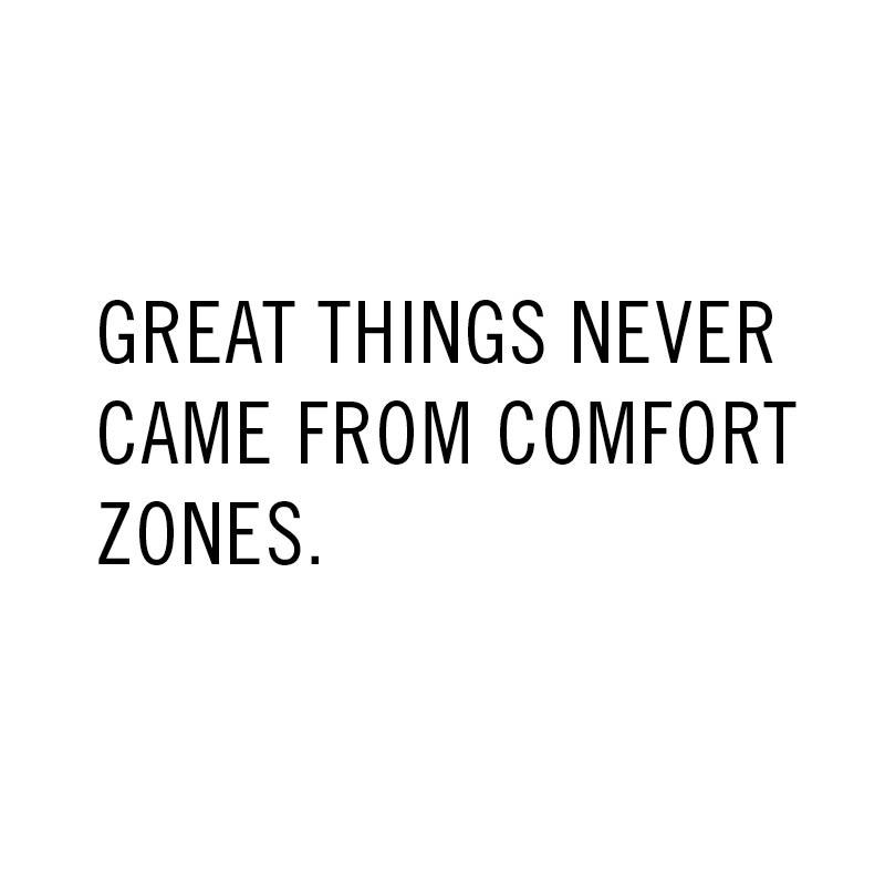 Great things never came from comfort zones. #GoodMorning #Motivate #HerschelSupply http://t.co/rcrqVxsQvC