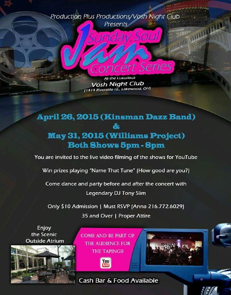 Call to R.S.V.P. You  MUST be on the list  to attend. Come have  a  great  time  with  Kinsman Dazz Band. http://t.co/VLPylRk0eG
