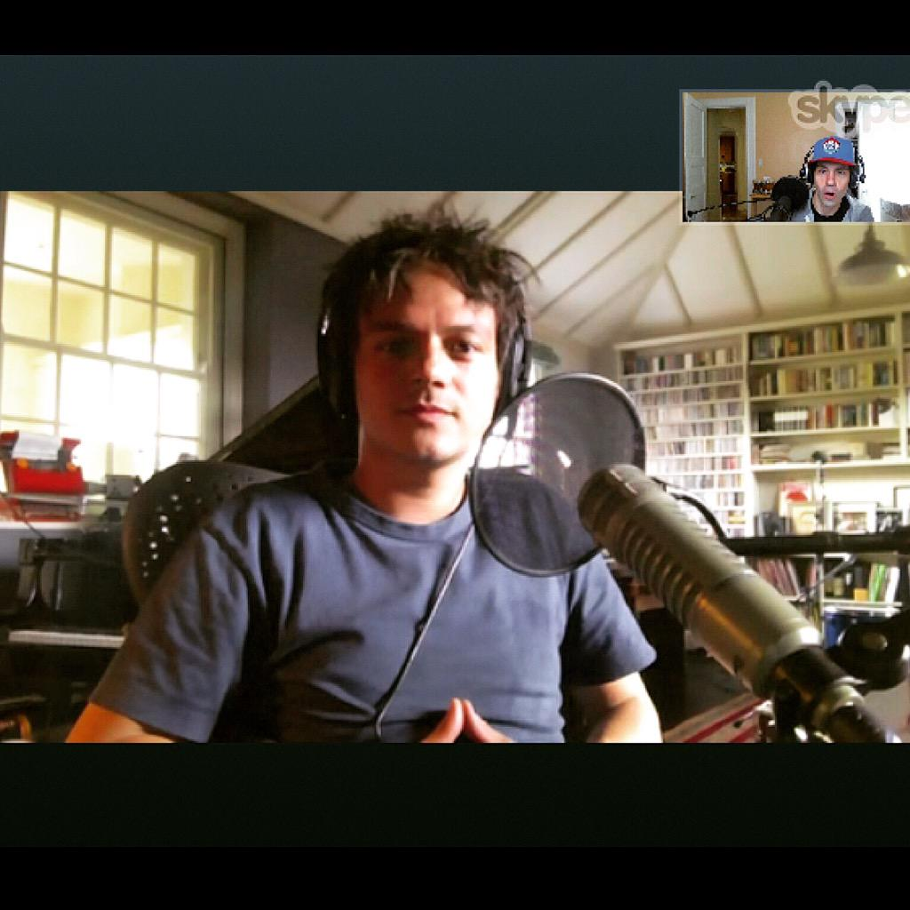 Just recorded an I Eat Songs w/ @jamiecullum! Subscribe to my @Bandcamp + hear it next week - http://t.co/JJ7gVAvpAP http://t.co/U6vajS4ez0