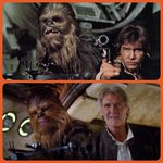 RT @BUNCHofSTEVE: Chewie's defffinitely had work done... #StarWars #TheForceAwakens http://t.co/VhObi60j1H
