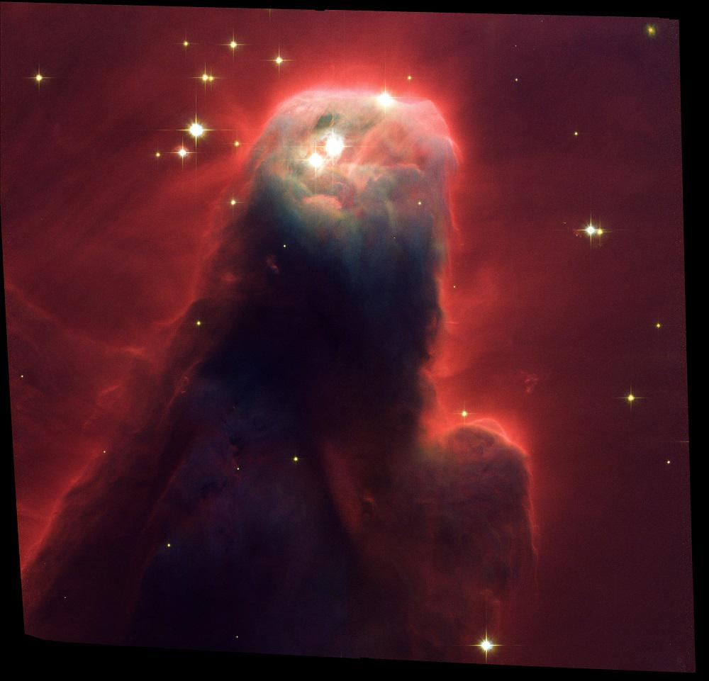 In honor of #Hubble25 here is my favorite hubble image, the cone nebula.  Taken just after my first mission to Hubble http://t.co/3Ey9huOVtS