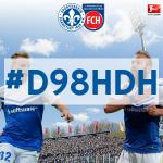 Der #Hashtag zum Heimspiel gegen @FCH1846 am #Bölle: #D98HDH http://t.co/7aHLjfnxVf