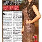 RT @priyaguptatimes: The Hyderabad Times Most Desirable Woman of 2014 is Sania Mirza...@MirzaSania http://t.co/AZlo3yM6FF
