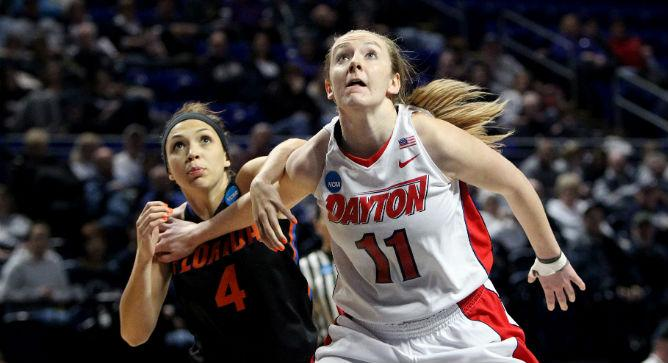 OFFICIAL: With the 8th pick in the 2015 #WNBADraft, the #Mystics select @allymalott from Dayton  Welcome Ally! http://t.co/qAKu8ZAev8