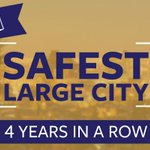 El Paso was ranked the safest large U.S. city 4 years in a row. RT if you agree a safe El Paso is a strong El Paso! http://t.co/rOCYhMj22m