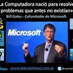 """@UNITECVE Una Frase de Bill Gates para Terminar la Semana. """"La Computadora nacio para..."""" #sysventa #windows  http://t.co/apPyq30KJH"""
