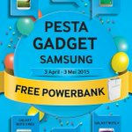 Beli Samsung Galaxy di @GadgetmartBJM Free Powerbank! *Syarat & Ketentuan berlaku Periode 3 April–3 Mei http://t.co/NWLatOW83A