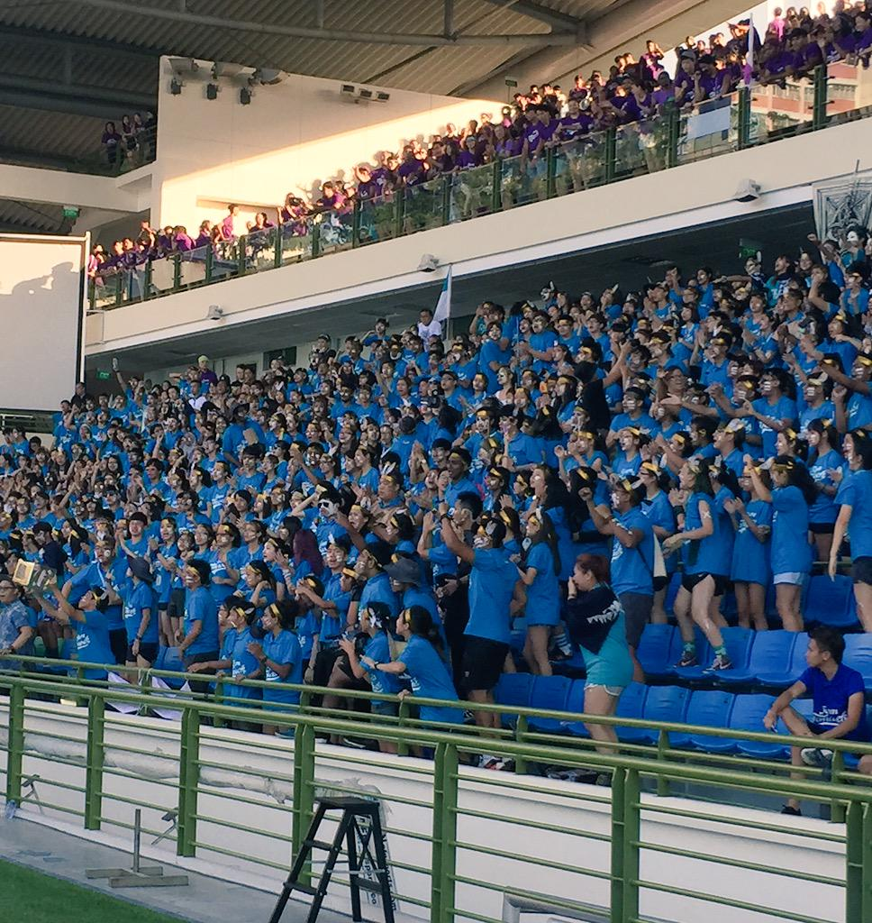 Best Spirited school goes to DESIGN!!! #TPOlympiad #tpfo #teamtemasek #tppride http://t.co/eLvbqYynLH