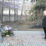Посол Теффт возложил цветы на Аллее Памяти воинов-уральцев,безвестно павших в годы Второй мировой войны #Екатеринбург http://t.co/TQBhBeZTsB