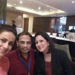 RT @prasanto: With @gulpanag and @synadehnugara just ahead of the #iDay #SuccessStories session!